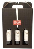 3. fl. fransk rødvin i gaveæske