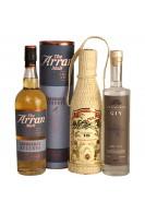 Gavepakke med Whisky rom, og gin